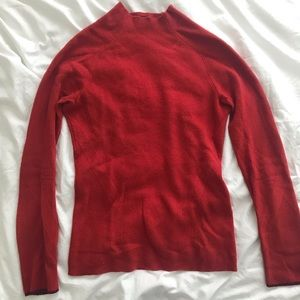 Rag & Bone Red 100% Cashmere Sweater
